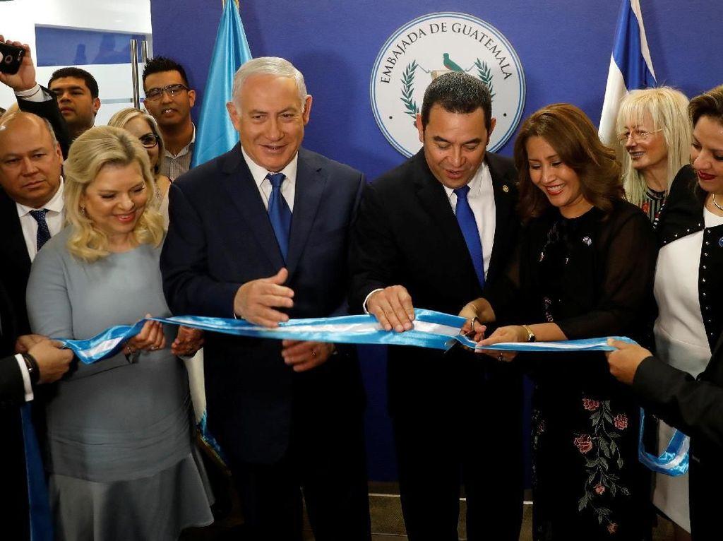 2 Hari Usai AS, Guatemala Juga Buka Kedutaan di Yerusalem