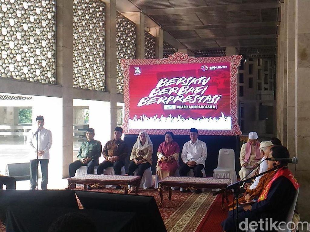 BPIP Gelar Silahturahmi Peringati Hari Lahir Pancasila