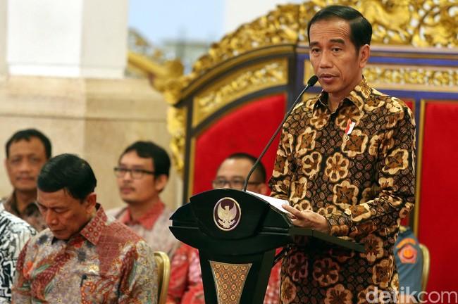 Jokowi soal Eks Koruptor Nyaleg: Itu Hak Ya