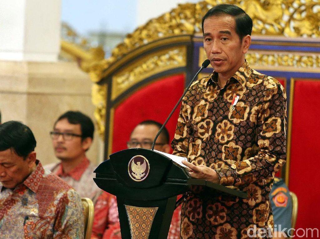 Banyak Kapal Ditenggelamkan, Jokowi: Kok Produksi Naiknya Sedikit?
