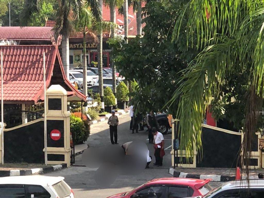 Belum Ada Keluarga yang Jemput Jenazah 4 Teroris Mapolda Riau