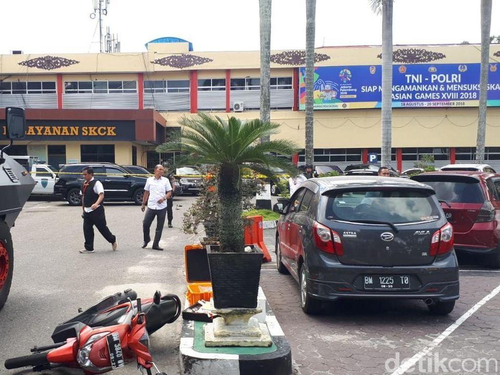 Polisi Tak Temukan KTP di Tubuh 4 Terduga Teroris Polda Riau