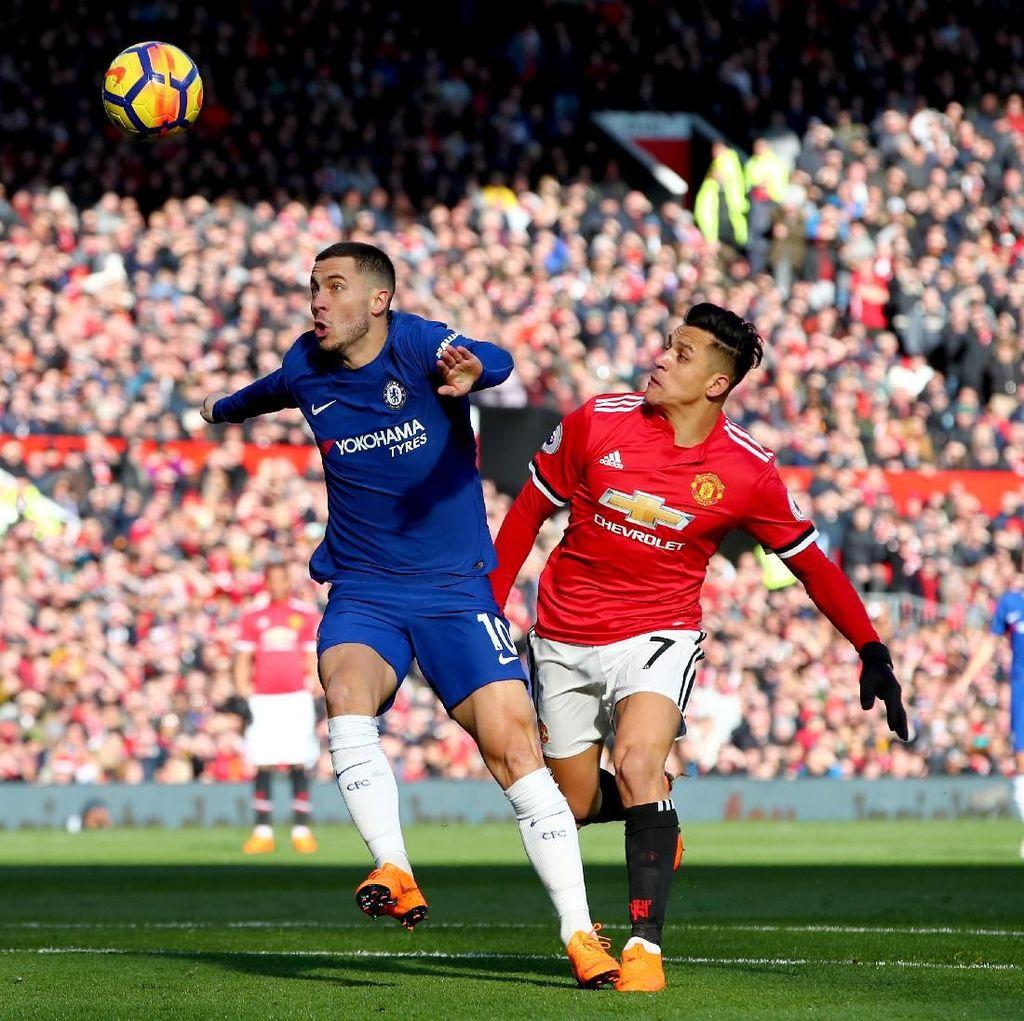 Pertarungan Chelsea vs MU di Stamford Bridge