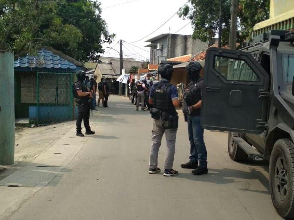 Polisi Sterilisasi Rumah 2 Terduga Teroris, Tidak Ada Bahan Peledak