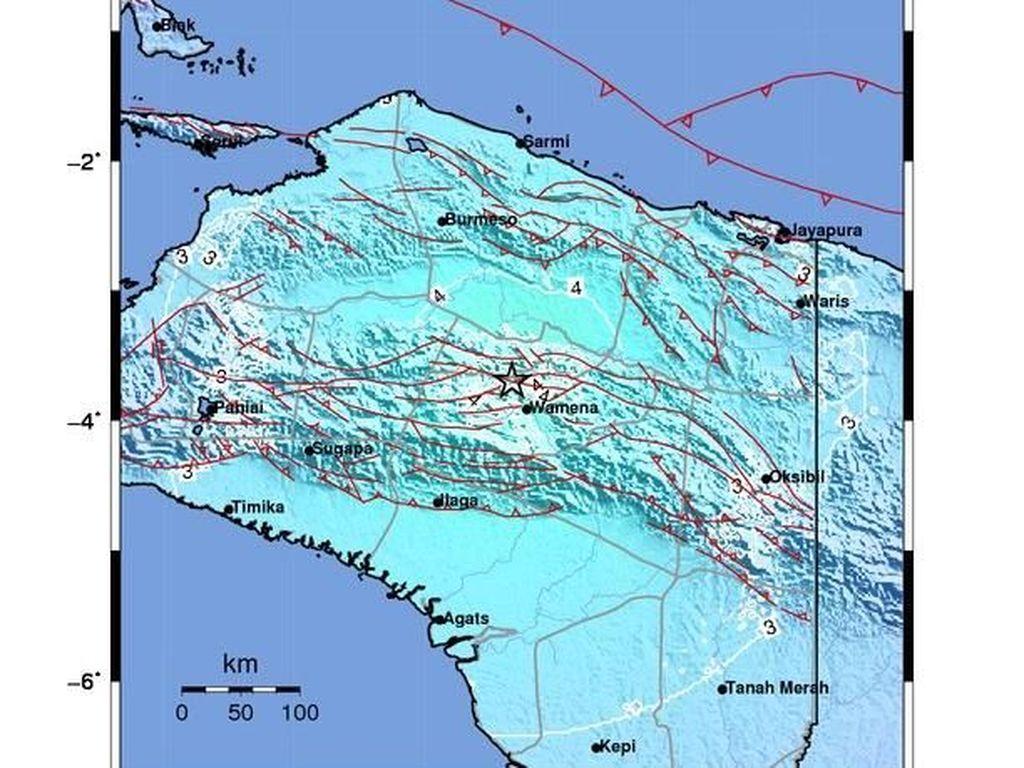 Gempa 6,1 SR di Tolikara, Warga Panik Keluar dari Rumah