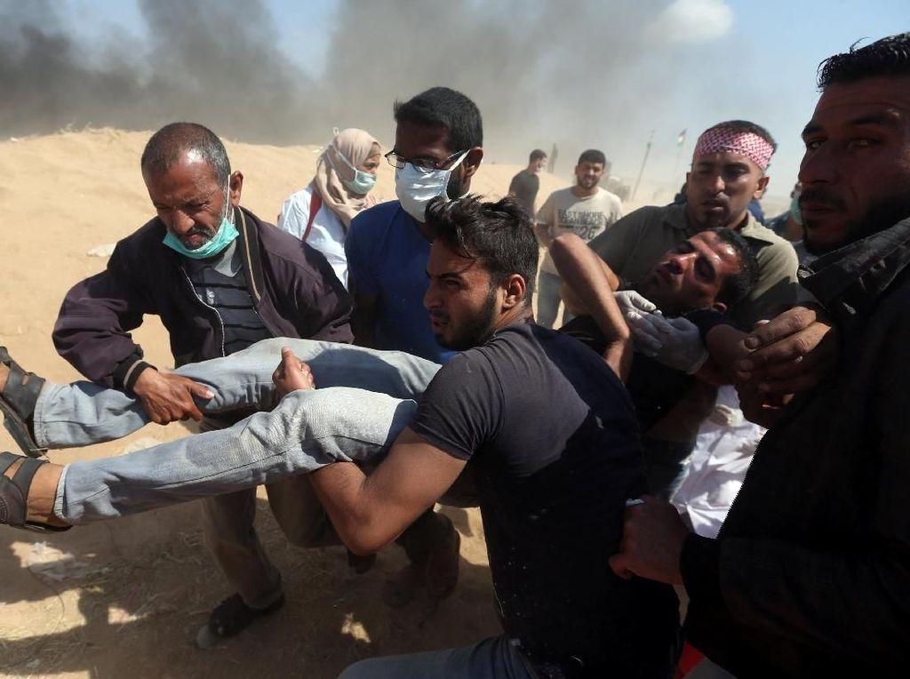 Israel Tembak Mati 58 Warga Palestina, DPR: Ini Genosida!