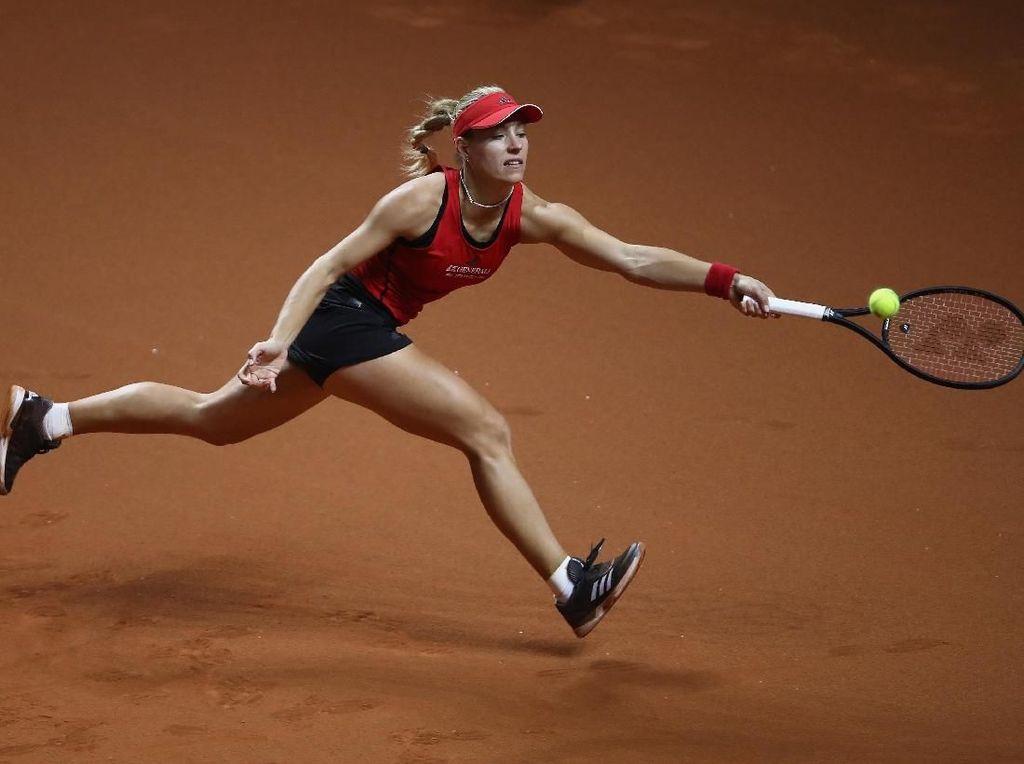 Kerber dan Sharapova Melaju ke Babak Kedua