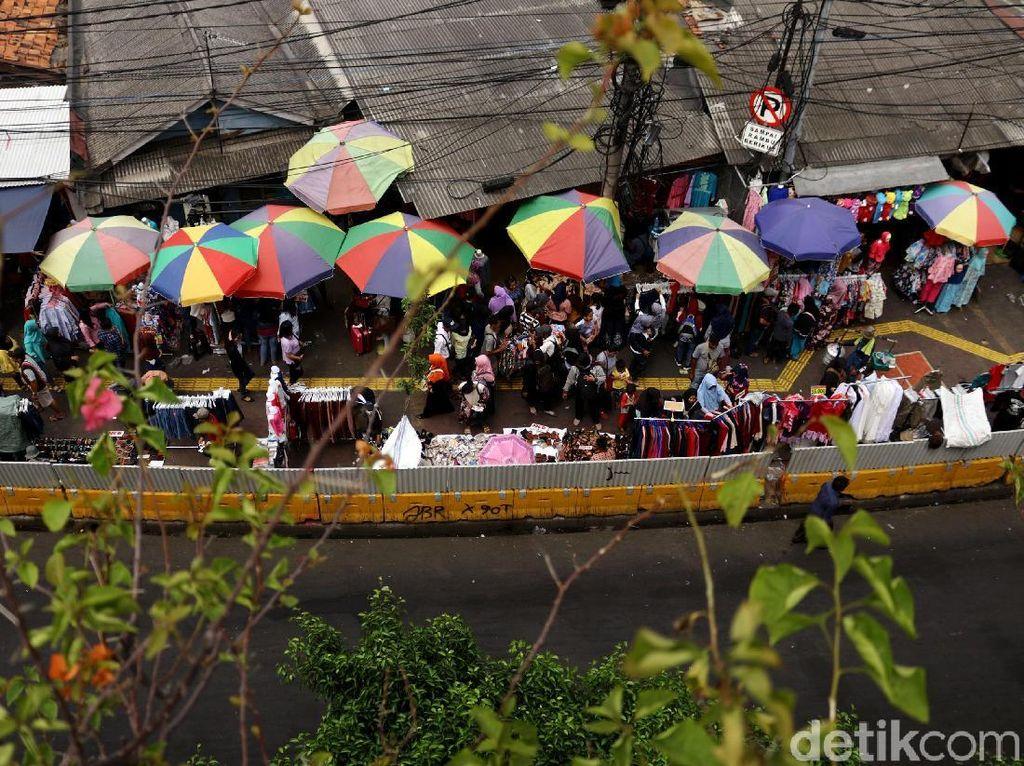Dishub: Polisi Setuju Jatibaru Tn Abang Tak Dibuka karena Sky Bridge