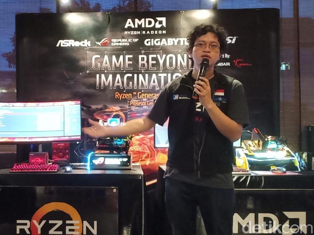 AMD Yakin Ryzen Jadi Raja di Bisnis PC Gaming