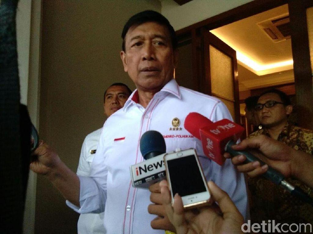 Wiranto Gelar Rakor Bahas Pembakaran Bendera Bertuliskan Tauhid