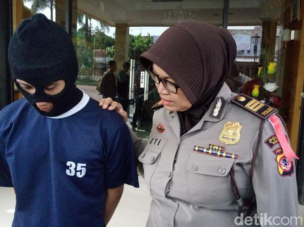 Gagal Beraksi, Begal Tusuk Kepala Pemuda Bandung