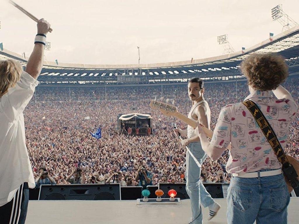 Adegan Klimaks Live Aid Bohemian Rhapsody Ternyata Disambut Hambar
