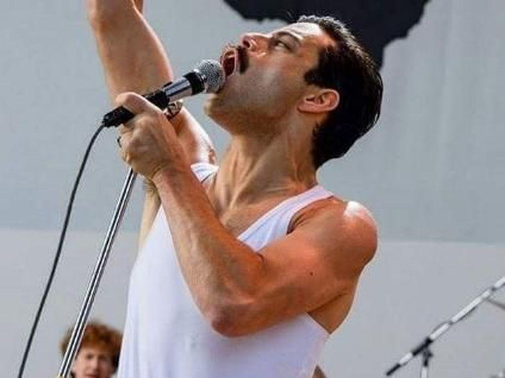 Reka Ulang Konser Live Aid Bohemian Rhapsody Dianggap Seperti Baptisan Api