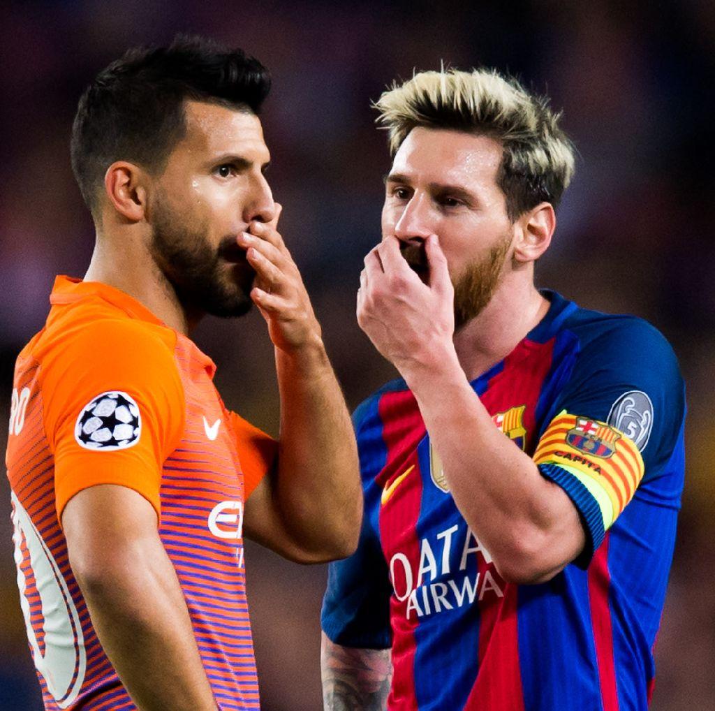 Messi: Main dengan Aguero? Kalau Dia Gabung Barca