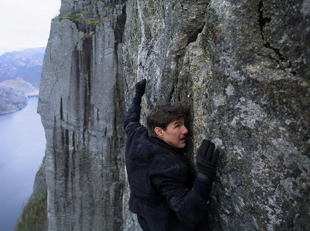 Aksi Paling Bikin Merinding Tom Cruise di Mission Impossible-Fallout