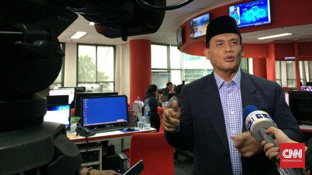 Anggota Komisi III DPR Muhammad Syafi'i menyebut penahanan Ahmad Dhani melanggar HAM.