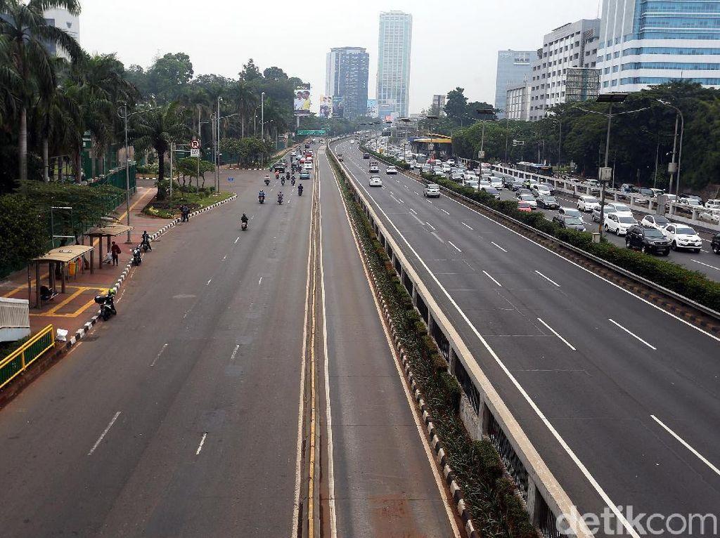 Hari Pertama Puasa, Tol Dalam Kota Jakarta Lancar