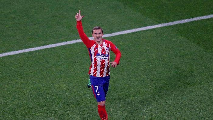Pemain Atletico Madrid, Antoine Griezmann. (Foto: Vincent Kessler/Reuters)