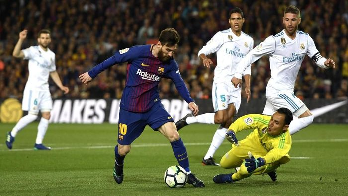 Lionel Messi akui Real Madrid spesial. (Foto: Alex Caparros/Getty Images)