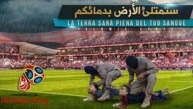 ISIS Ancam Piala Dunia Lagi, Rilis Poster Penggal Messi-Ronaldo