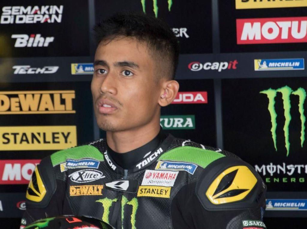 Di MotoGP, Syahrin Ingin Jadi seperti Rossi Suatu Hari Nanti