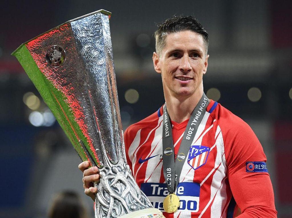 Trofi Pertama dan Terakhir Torres di Atletico