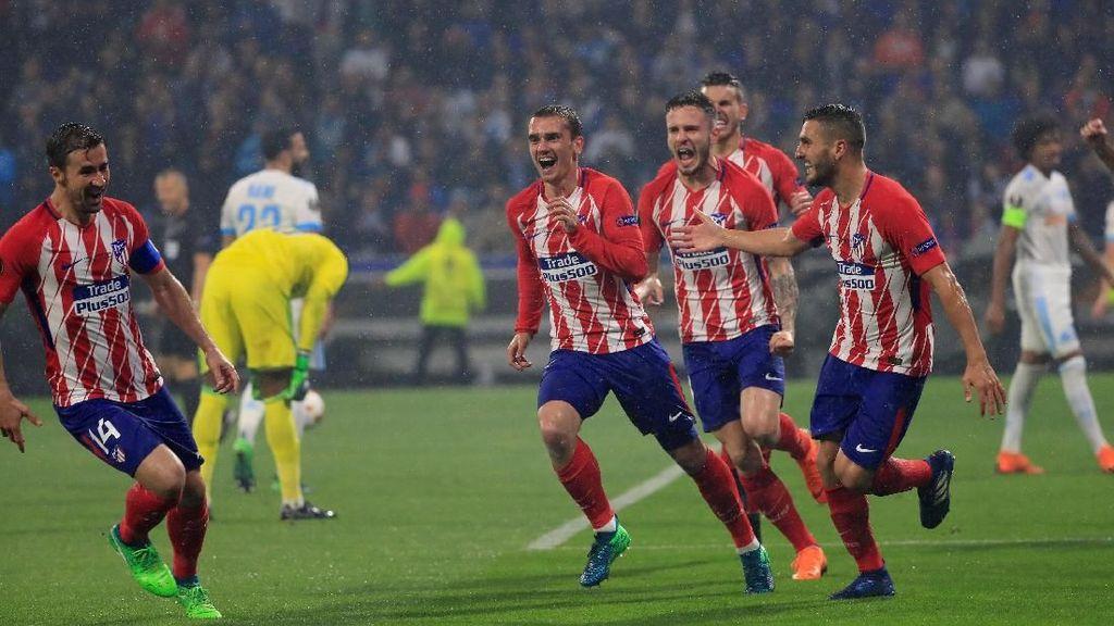 Atletico Madrid Juara Liga Europa 2017/2018