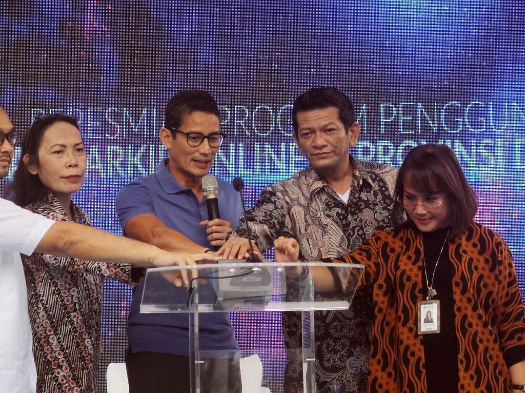 Aplikasi Parkir Online Segera Diterapkan di Jakarta