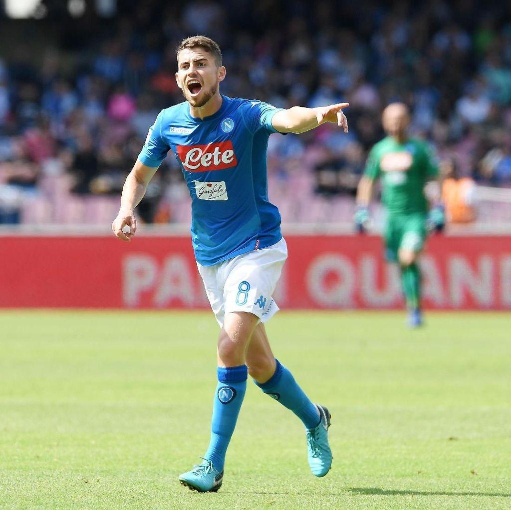 Presiden Napoli: Jorginho dan Sarri Menuju Chelsea