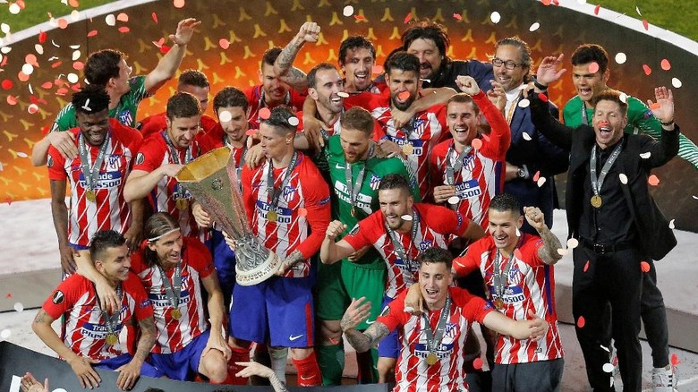 Atletico Tegaskan Dominasi Tim Spanyol di Eropa