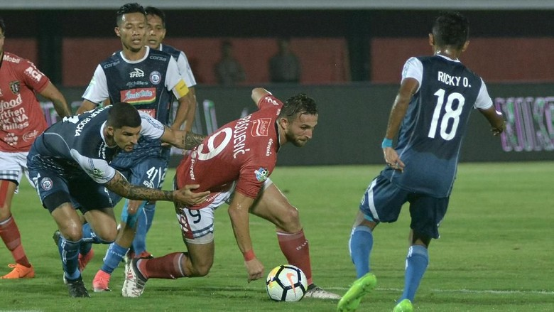 Bali United Kalahkan Arema 1-0