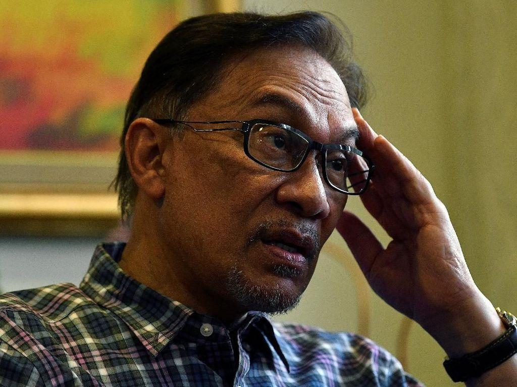 Anwar Ibrahim 2 Kali Ditelepon Najib Usai Kalah Pemilu