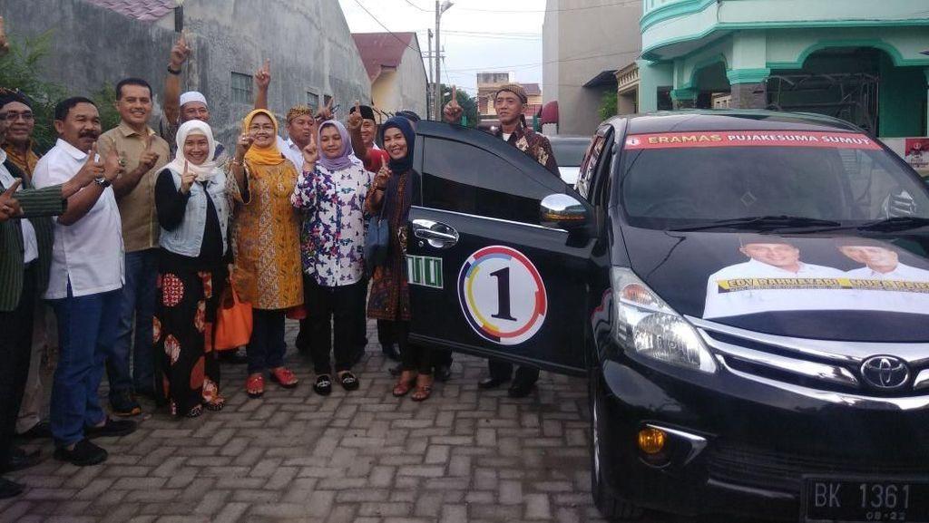 Cawagub Ijeck Serahkan Mobil Operasional untuk Relawan Pujakesuma