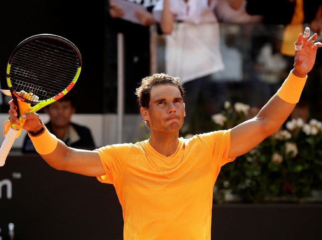 Nadal Lolos ke Perempatfinal