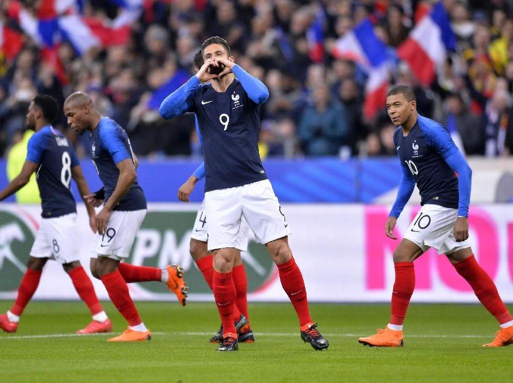 Tak Ada Lacazette dan Martial, Ini Skuat Prancis untuk Piala Dunia 2018