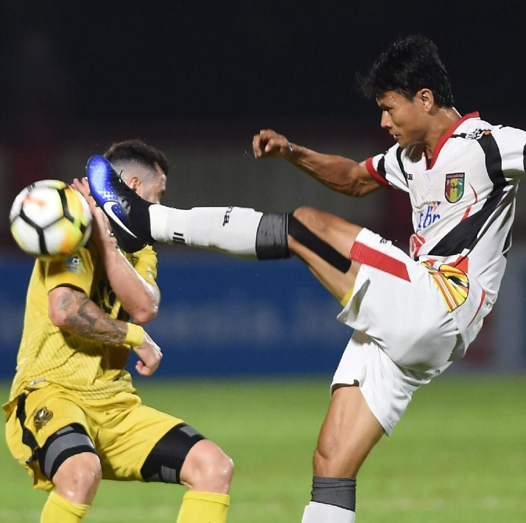 Kalah dari Bhayangkara FC, Mitra Kukar Merasa Tak Beruntung