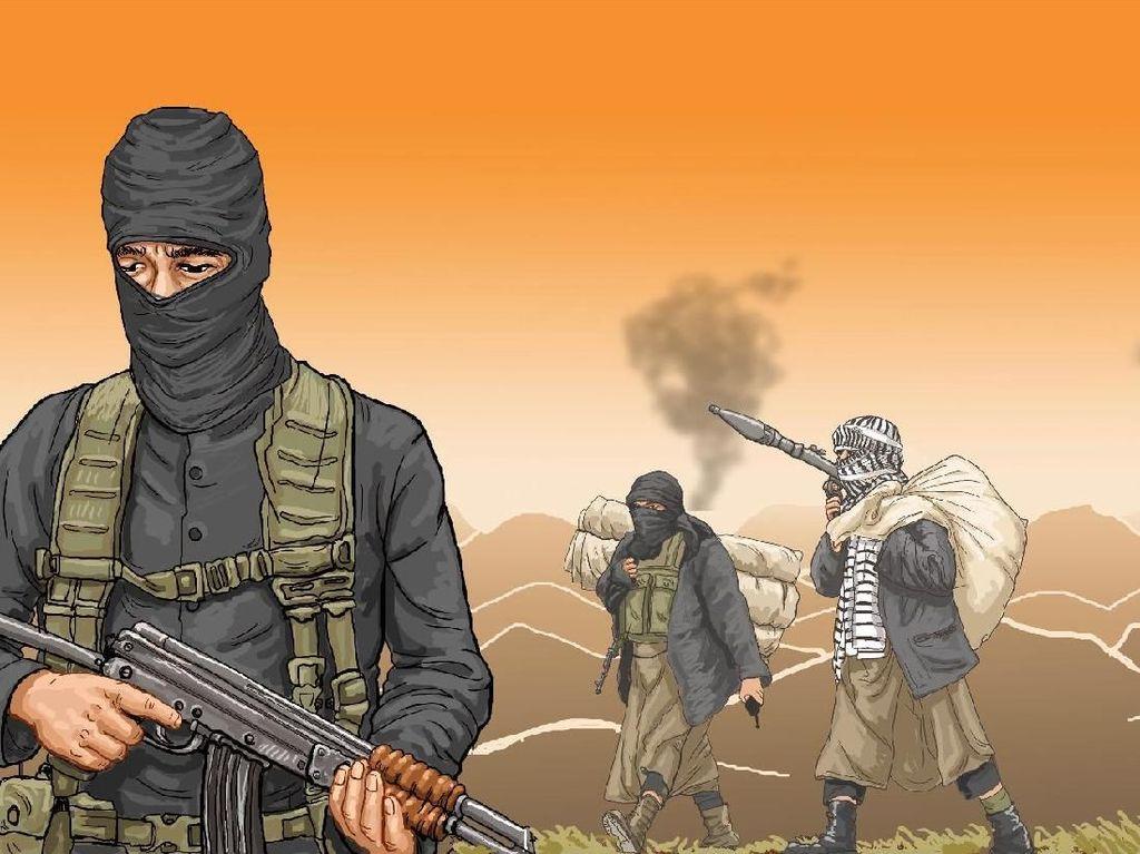 ISIS Klaim Bunuh 4 Tentara Tunisia dan Penggal Mata-mata