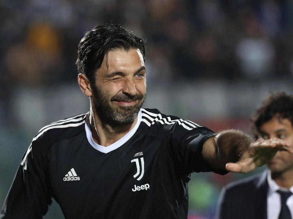 Demi Juventus, Buffon Tolak Tawaran Klub Inggris