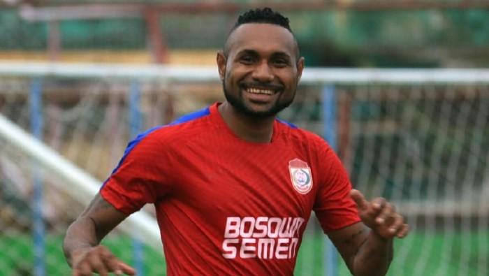 Titus Bonai saat masih berseragam PSM Makassar