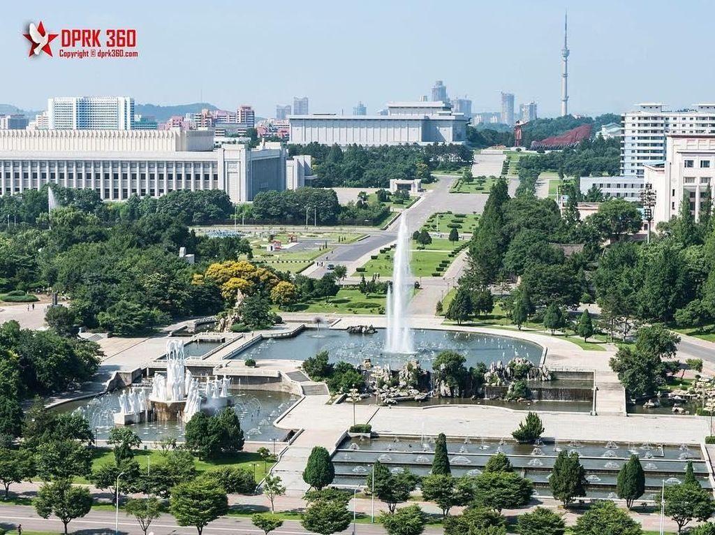 Potret Suasana Korea Utara yang Sebagian Mirip Indonesia