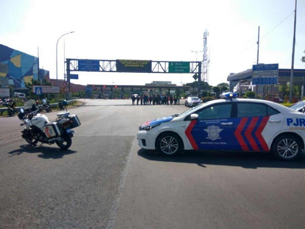 Sempat Ditutup 2,5 Jam, Tol Sidoarjo yang Diancam Bom Dibuka