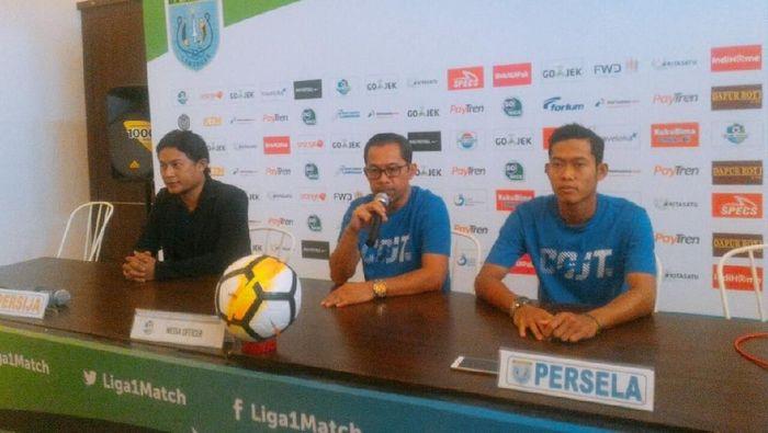 Pelatih Persela menegaskan tekad agar tak kembali kehilangan poin di kandang (Foto: Eko Sudjarwo)