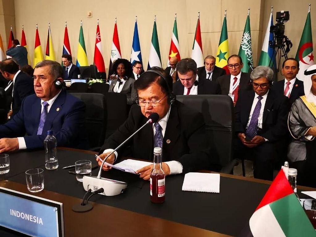 Wapres JK Minta Hamas-Fatah Bersatu Selesaikan Masalah Palestina