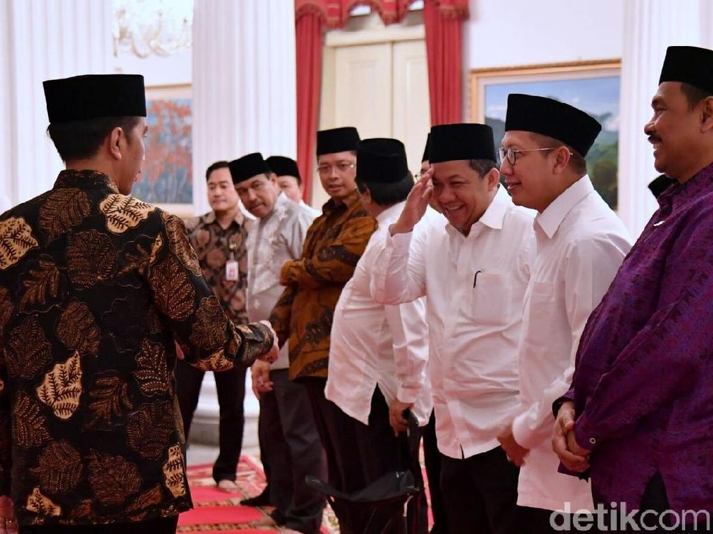 Kemesraan Jokowi dan Fahri Hamzah Saat Dua Kali Buka Bareng