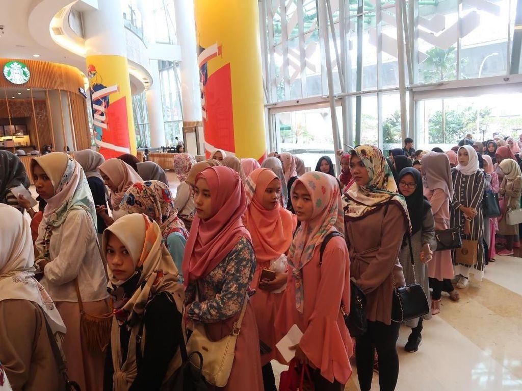 Foto: Serunya Suasana Audisi Sunsilk Hijab Hunt Jakarta