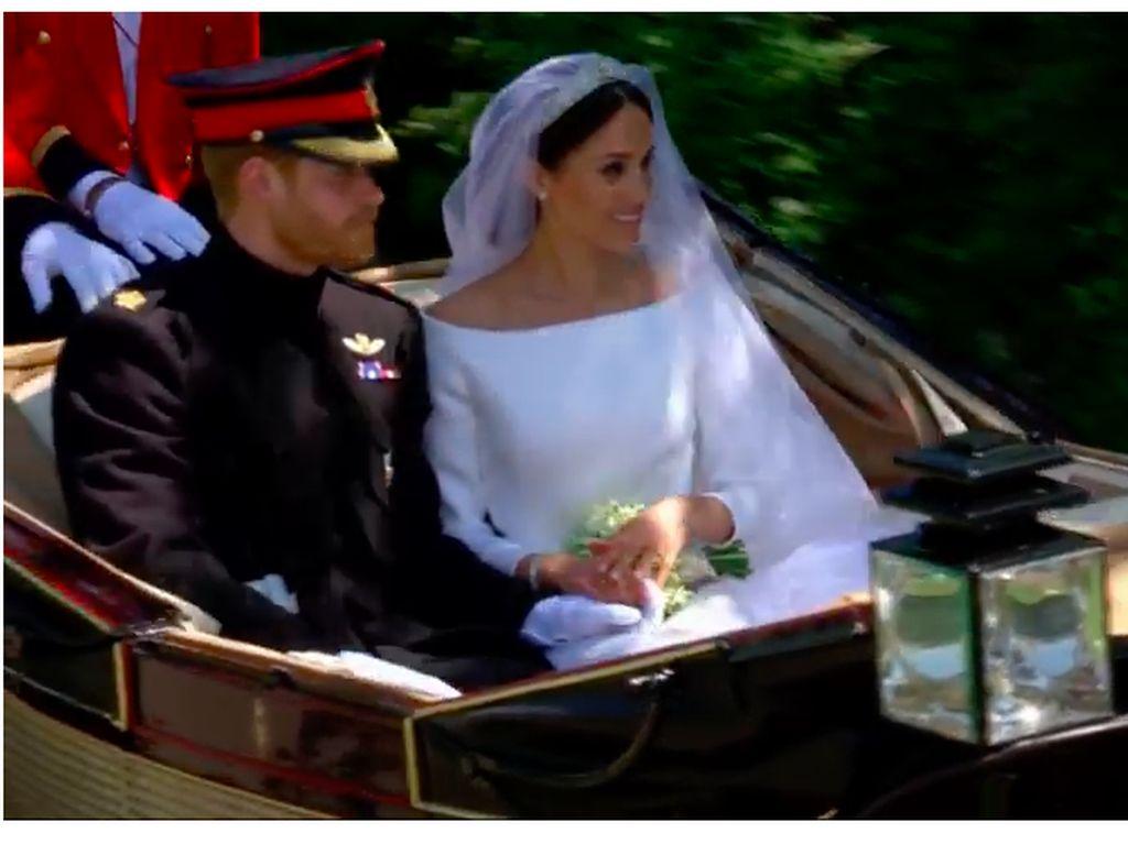 Simulakra Royal Wedding Pangeran Harry dan Meghan Markle