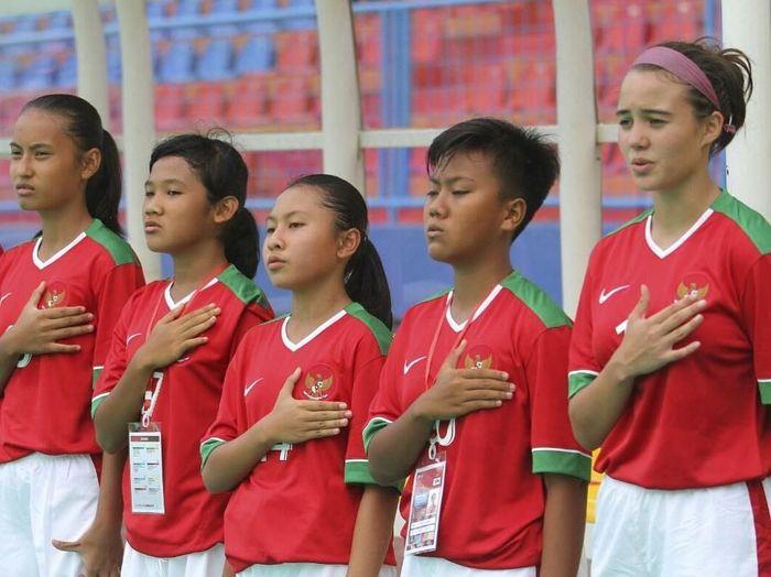 Pemain Timnas Indonesia U-15 Putri. (Foto: Instagram/@portia.fischer)