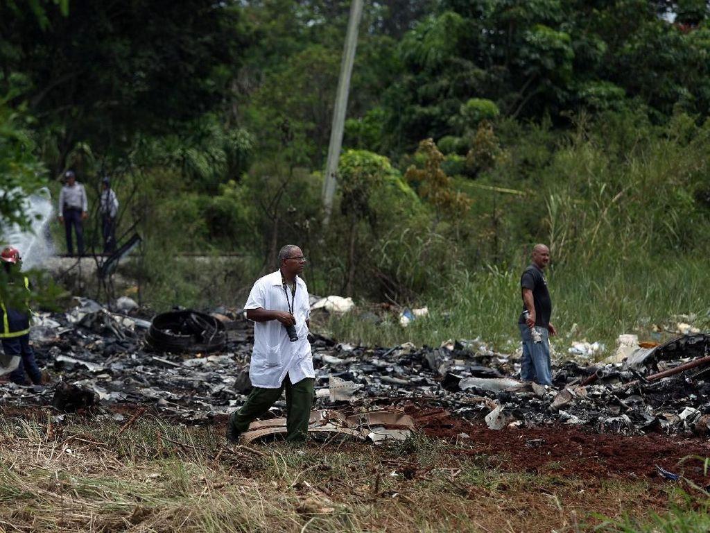 Kotak Hitam Pesawat yang Jatuh di Havana Ditemukan
