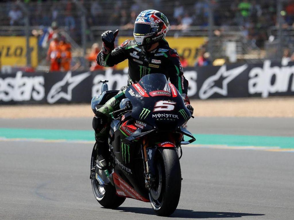 Zarco Kaget Bisa Rebut Pole Position di MotoGP Prancis