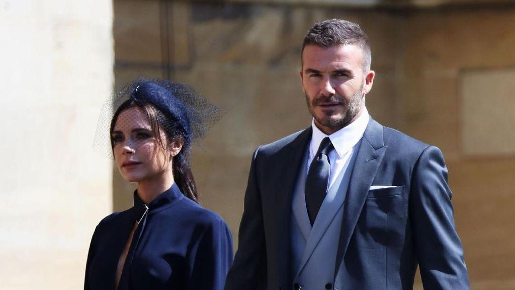 Pakar Bahasa Tubuh: Pernikahan David & Victoria Beckham Banyak Ketegangan